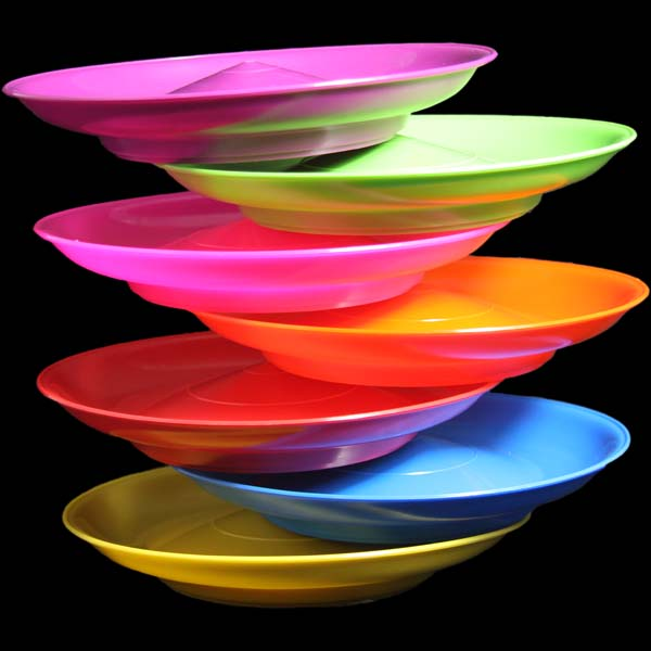 CathysSpinningPlateMain What shapes and colors of plates should I use for good feng shui?