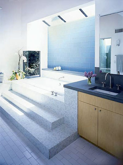 3. Bathroom Lighting Everything for the money area in the bathroom according feng shui