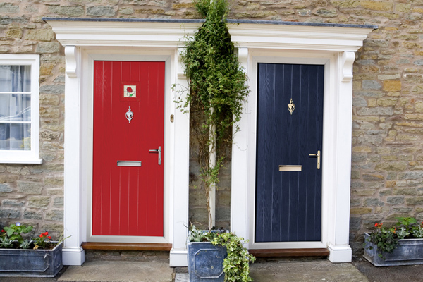 new front doors What is the best color in feng shui for front door?