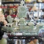 Thuyền buồm rồng đá ngọc Liêu Ninh khủng K1091